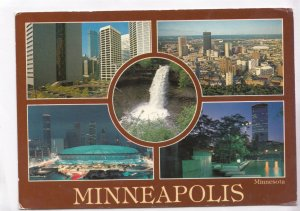 MINNEAPOLIS, MN, multi view, unused Postcard