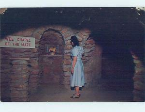 Unused Pre-1980 UNDERGROUND GARDEN AT CHAPEL Fresno California CA A6264