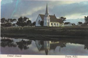 United Church , TRYON , P.E.I. , 60-80s