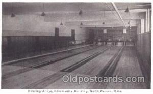 North Canton, Ohio, USA Bowling, Bowling Alley, Postcard Postcards  North Can...