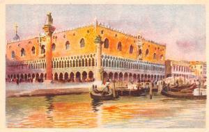 Italy Old Vintage Antique Post Card Palazzo Ducale Venezia Unused