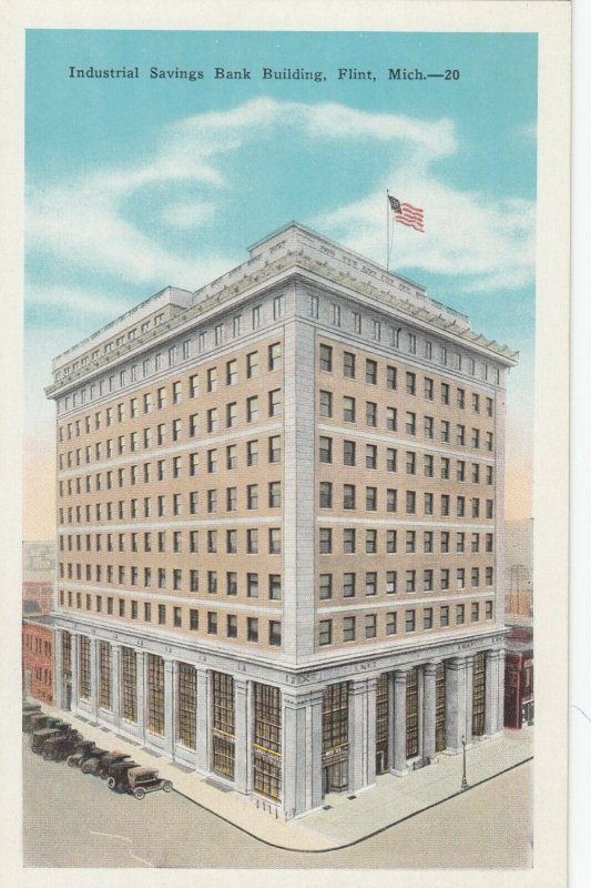 FLINT , Michigan, 1900-10s ; Industrial Savings Bank Building