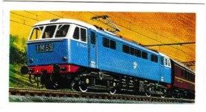 Trade Cards Brooke Bond Tea Transport Through The Ages No 29 Electric Locomotive
