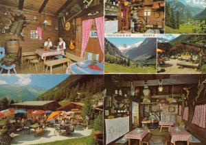 Jausenstation Tristenbach Tirol Hotel 4x Austria Postcard s