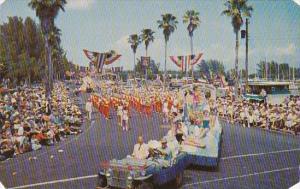 Florida Saint Petersburg Annual Festival Of States Parade