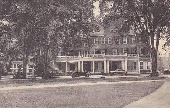 New Hampshire Hanover Inn Dartmouth College Campus Albertype