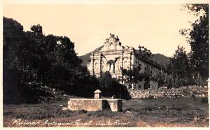 Spain Old Vintage Antique Post Card Ruinas Antigua Guat Santa Rosa Unused