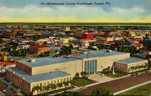 Florida Tampa Hillsborough County Court House Curteich