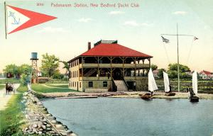 MA - New Bedford. The Yacht Club, Padanarum Station