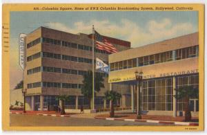 Columbia Square, KNX Broadcasting System, Hollywood CA