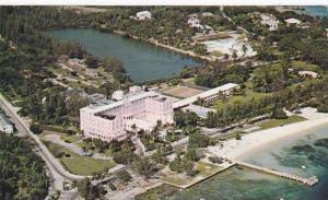 Aerial view,  The Montagu Beach Hotel,  Nassau,  Bahamas,  PU_1957