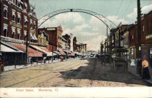 Front Street Marietta OH 1907