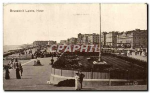 Postcard Old Brunswick Hove Lawns