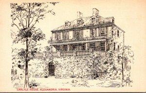 Virginia Alexandria The Carlyle House