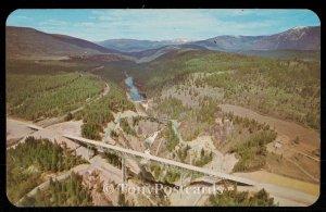 Foot High Bridge over Moyie Canyon