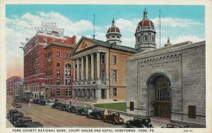 York County National Bank, COurt House and Hotel, Yorketowne, York, Pennsylva...