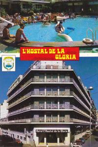 Spain Hotel L'Hostal De La Gloria Plaza de Paris Lloret de Mar Costa Brava
