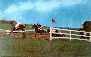 Virginia Warrenton Timber Jump Gold Cuo Races Cross-Country Horse Racing