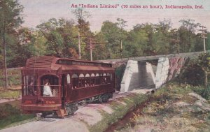 INDIANAPOLIS, Indiana, 00-10s; An Indiana Limited (70 Hours an hour) Trolly...