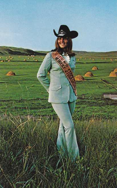 1970 Miss Stock Grower of Nebraska - The Beef State