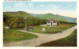 VT - Mt Mansfield, Toll House