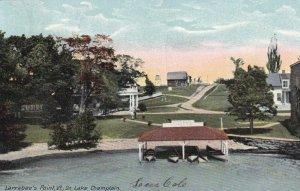 LARRABEE'S POINT, Vermont, PU-1917; On Lake Champlain