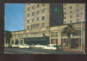 PHOENIX ARIZONA HOTEL WESTWARD HO VINTAGE ADVERTISING POSTCARD OLD CARS