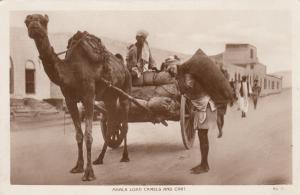 RP Maala Load Camel & Cart, Aden, Yemen, 00-10s