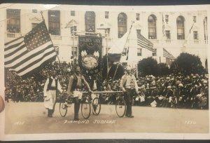 Diamond Jubilee Parade 1925 San Francisco CA Vintage Photo Postcard E38