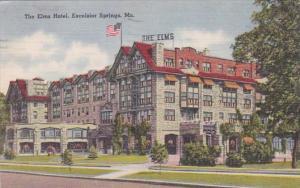 Missouri Excelsior Springs The Elms Hotel 1954