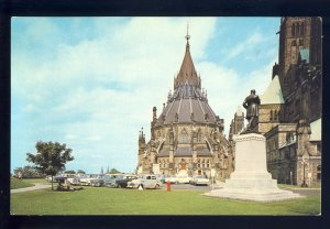 Ottawa, Ontario, Canada Postcard, The Octagonal Library On Parliament Hill
