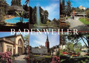 Badenweiler multiviews Schwimmbad Park Promenade Chruch Tower Swimming Pool