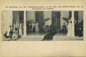 indonesia, CELEBES, Queen Tanette Bone receives Dutch Decoration (1905) Postcard