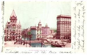 19303  NY  Syracuse   art drawn Clinton Square