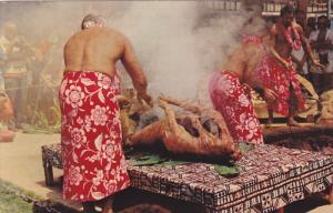 HAWAII; Luau Pig, Main Dish at every feast, 40-60s
