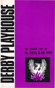 Dr Jekyll & Mr Hyde Derby Playhouse 1970s Theatre Programme