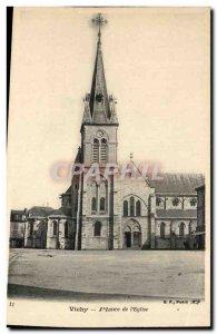 Postcard Old Vichy Place de L & # 39Eglise