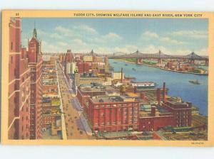 Linen WELFARE ISLAND New York City NY i1302