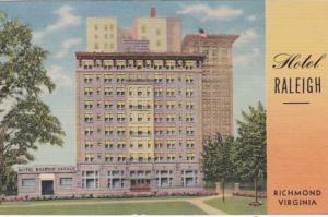 Virginia Richmond Hotel raleigh Curteich