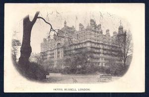 Hotel Russell London England unused c1910's