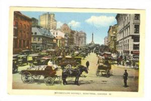 Bonsecours Market, Montreal,Quebec, Canada,  PU-1939
