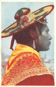 Mexico Old Vintage Antique Post Card Tipo Huichol Jalisco 1943
