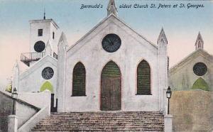Bermuda´s Oldest Church St. Peters At St. Georges, Bermuda, 1900-1910s