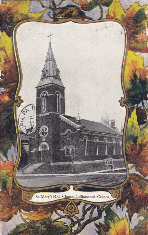 COLLINGWOOD , Ontario , 1911 ; St Mary's R.C. Church