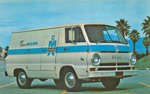 Stanton CA Chem MARK Sanitation Specialist Truck Postcard