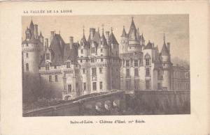 La Vallee de la Loire, Cahteau d'Usse XV Siecle, Indre-et-Loire, France, 10-20s
