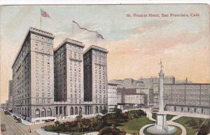 California San Francisco St Francis Hotel 1910