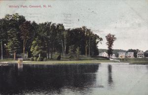 CONCORD, New Hampshire; White's Park, PU-1908