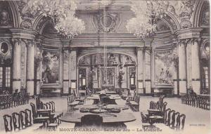 Monaco Monte Carlo Salle de Jeu La Roulette