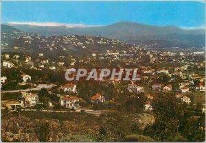 Postcard Modern Mandelieu General view of the cillines Mandelieu in the botto...